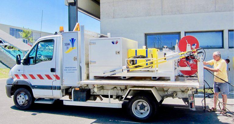 nettoyage desinfection bassins andarta skid haute pression camion plateau siemn webpage