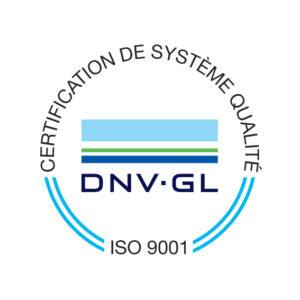EIM MIRAGE certifiée ISO 9001 par DNV GL